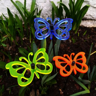 SunCatcher Set of 3 'Butterfly 3', 6cm – image 2