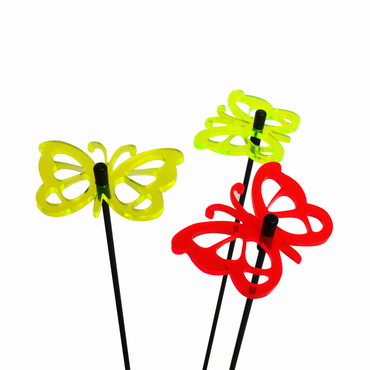 SunCatcher Set of 3 'Butterfly 3', 6cm – image 1