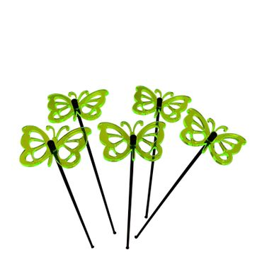 Small SunCatcher Set of 5 'Comma Butterfly' – Bild 10