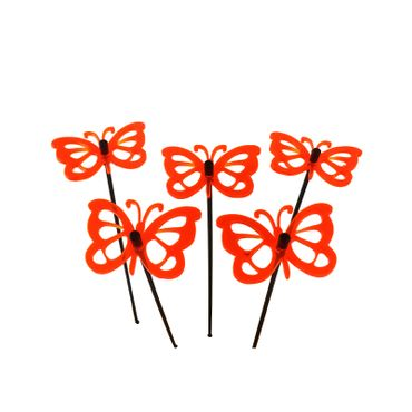 Small SunCatcher Set of 5 'Comma Butterfly' – Bild 11