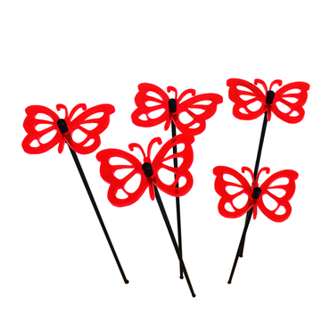 Small SunCatcher Set of 5 'Comma Butterfly' – Bild 5