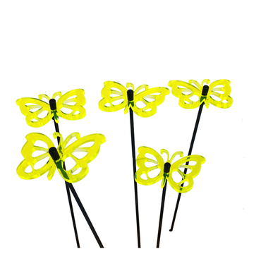 SunCatcher Set of 5 'Butterfly 3', 6cm – image 6