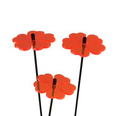 SunCatcher Set of 3 'Double Leaf Flower', 6cm – image 6