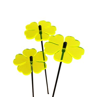 SunCatcher Set of 3 'Double Leaf Flower', 6cm – image 8
