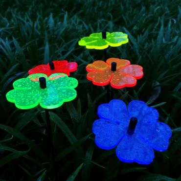 SunCatcher Set of 5 'Double Leaf Blossom', 6cm – image 4