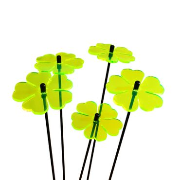 SunCatcher Set of 5 'Double Leaf Blossom', 6cm – image 6