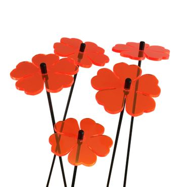 SunCatcher Set of 5 'Double Leaf Blossom', 6cm – image 7