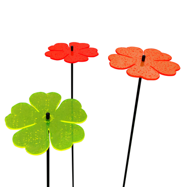 SunCatcher Set of 3 'Double Leaf Flower', 15cm – image 11