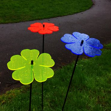 SunCatcher Set of 3 'Double Leaf Flower', 15cm – image 6