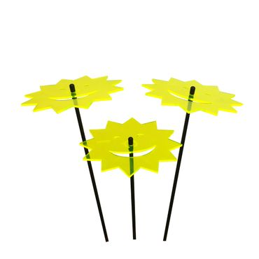 SunCatcher Set of 3 'Laughing Sun', 15cm – image 1