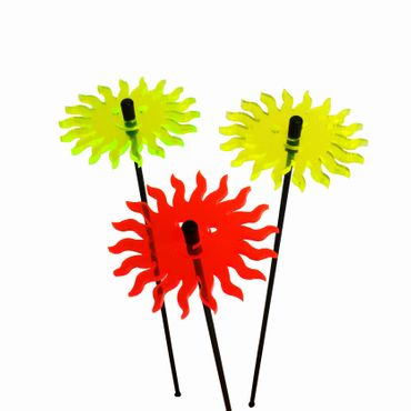 SunCatcher Set of 3 'Smiling Sun', 6cm – image 2