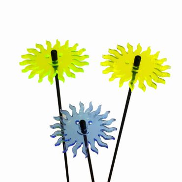 SunCatcher Set of 3 'Smiling Sun', 6cm – image 4