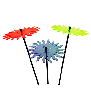 SunCatcher Set of 3 'Smiling Sun', 15cm – image 5
