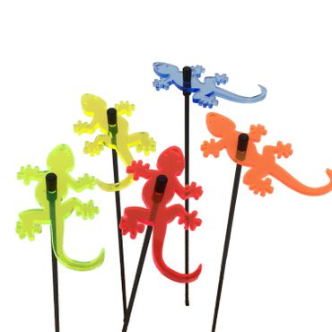 SunCatcher Set of 5 'Gecko', 6cm – image 1