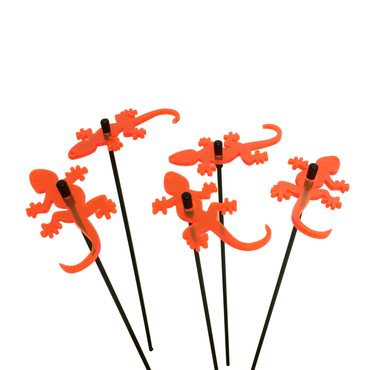 SunCatcher Set of 5 'Gecko', 6cm – image 4