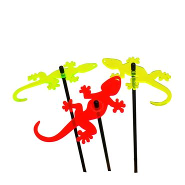 SunCatcher Set of 3 'Gecko', 15cm