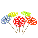 SunCatcher Set of 5 'Sun Wheel 2', 15cm 001