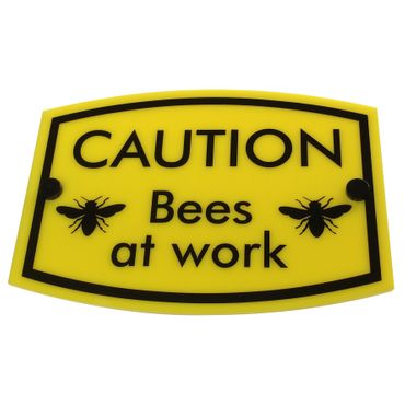 Bee Keeping Sign 'Bees at work'