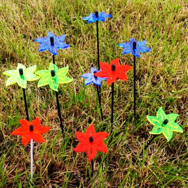 SunCatcher Set of 3 'Lotus', 6cm – image 3