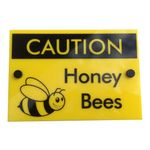 Bee Keeping Sign 'Caution Honey Bees 1'