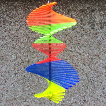 Wind Spinner, flourescent, 27cm wide, 40cm high – image 8