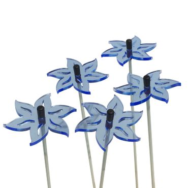 SunCatcher Set of 5 Lotus, 5cm – image 2