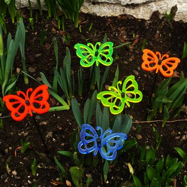 SunCatcher Set of 5 'Butterfly 3', 10cm – image 3