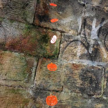 SunCatcher Set of 3 'Pumkins', 15cm, garden stake – image 2