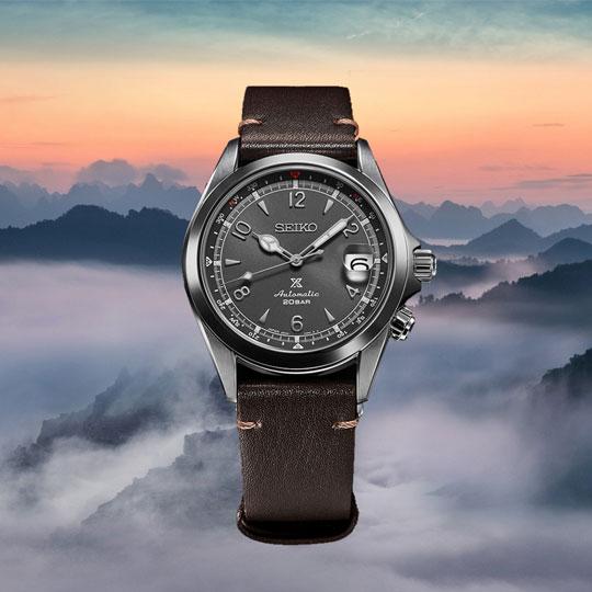 Seiko Alpinist Armbanduhr