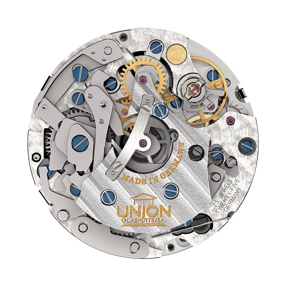 Union Glashütte Uhrwerk UNG-59.S1