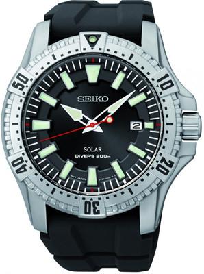 Seiko Herrenuhr Diver's Solar SNE293P2