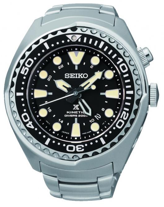 Seiko Kinetic Herrenuhr SUN019P1