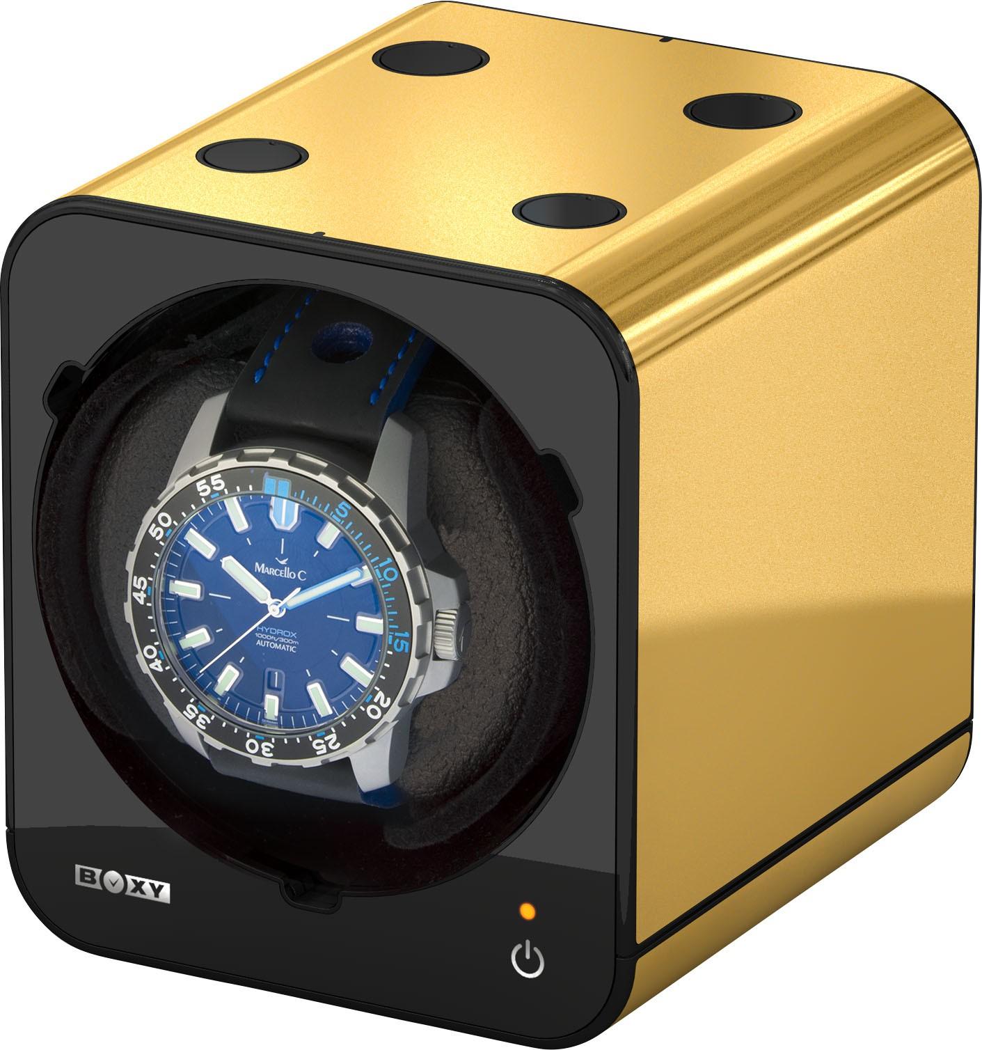 Bild 2 Beco Uhrenbeweger goldfarben ohne Netzadapter