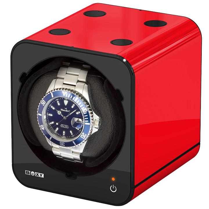 Bild 2 Beco Uhrenbeweger rot ohne Netzadapter Fancy Brick