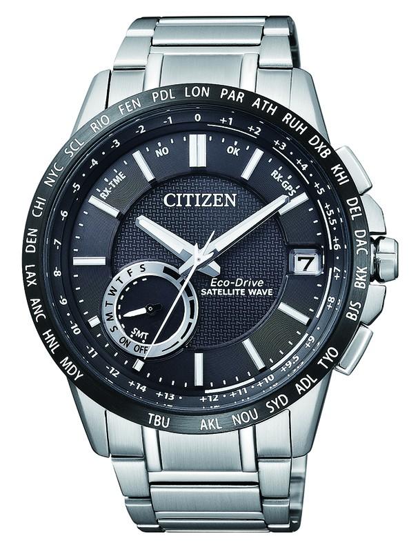 Citizen Satelite CC3005-51E Eco Drive Armbanduhr mit GPS