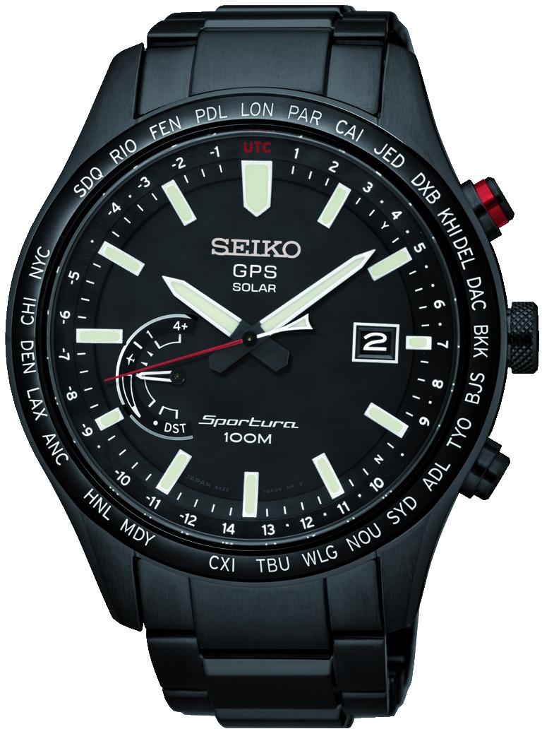 Seiko Sportura GPS Solar SSF005 / SSF005J1 Herrenuhr