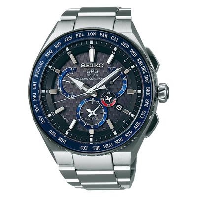 Seiko GPS Chronograph SBXB133 Honda Jet Astron Solaruhr LE