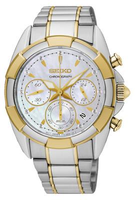 Seiko Damenchronograph mit Diamanten SRW808P1