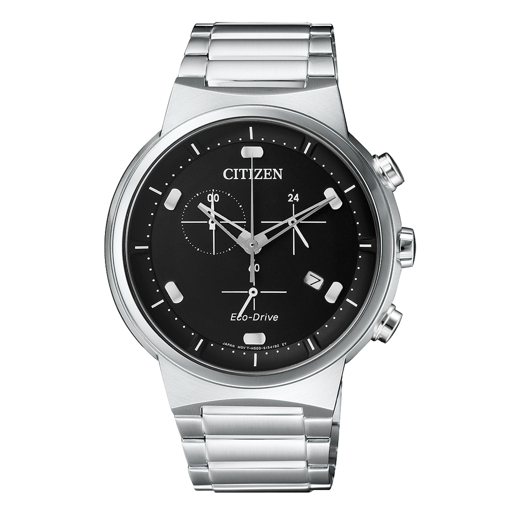 Citizen Herren Chronograph Ecodrive AT2400-81E