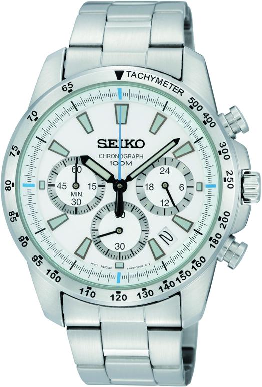 Seiko Männerchronograph SSB025P1 / SSB025 aus Edelstahl