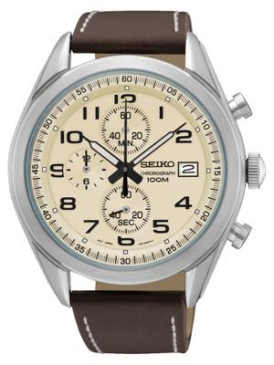 Seiko Männerchronograph SSB273P1 / SSB273 aus Edelstahl
