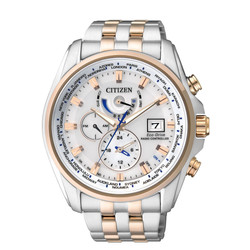 Citizen Bicolor Funksolar Herren Chronograph AT9034-54A 001