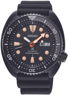 Seiko Automatik SRPC49K1 / SRPC49 Black Turtle