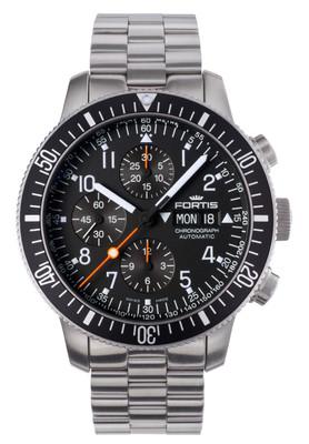 Fortis B-42 638.10.11 M Offficial Cosmonauts Automatik Chronograph
