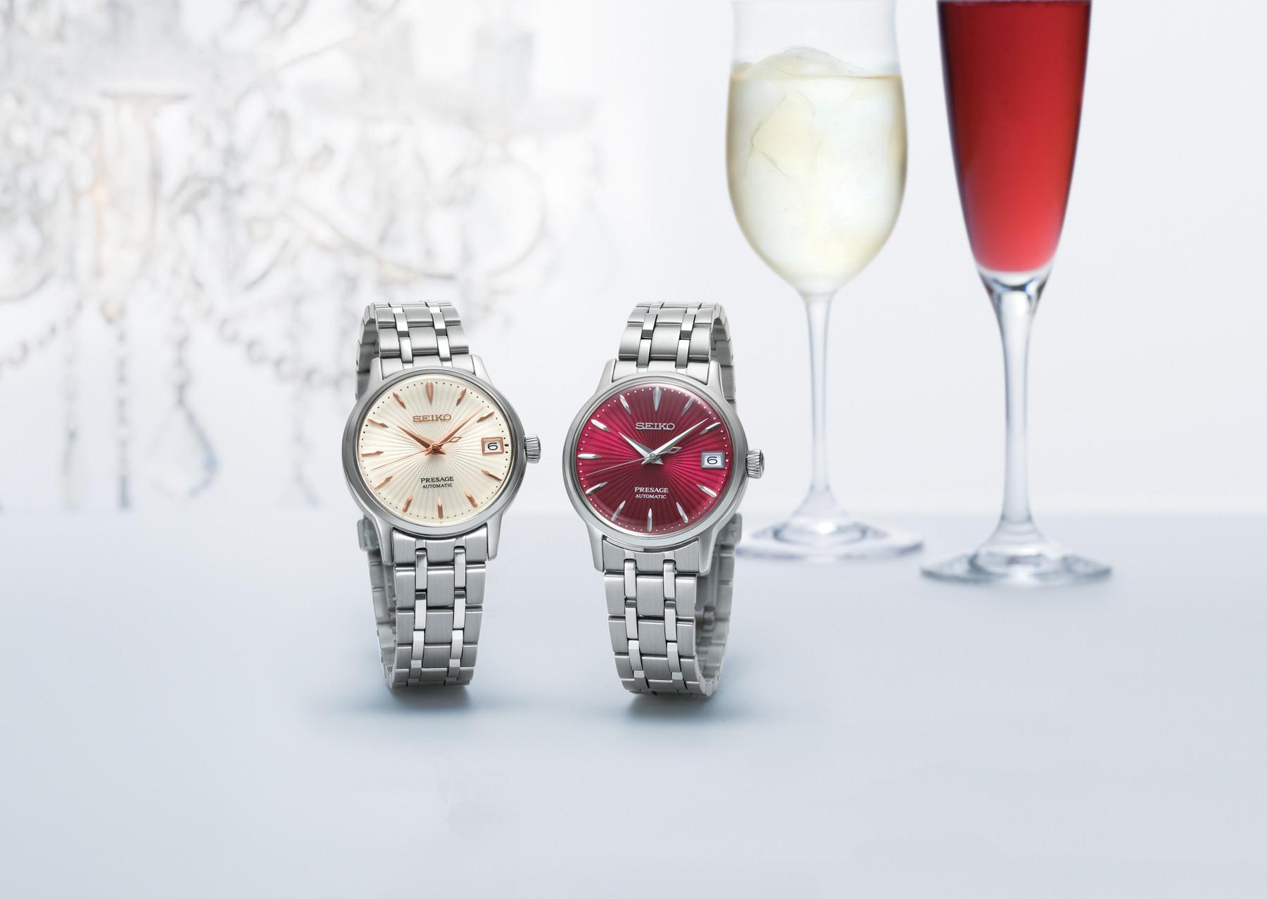 Bild 2 Seiko Presage Damen Automatikuhr SRP855 / SRP855J1 Cocktail Time