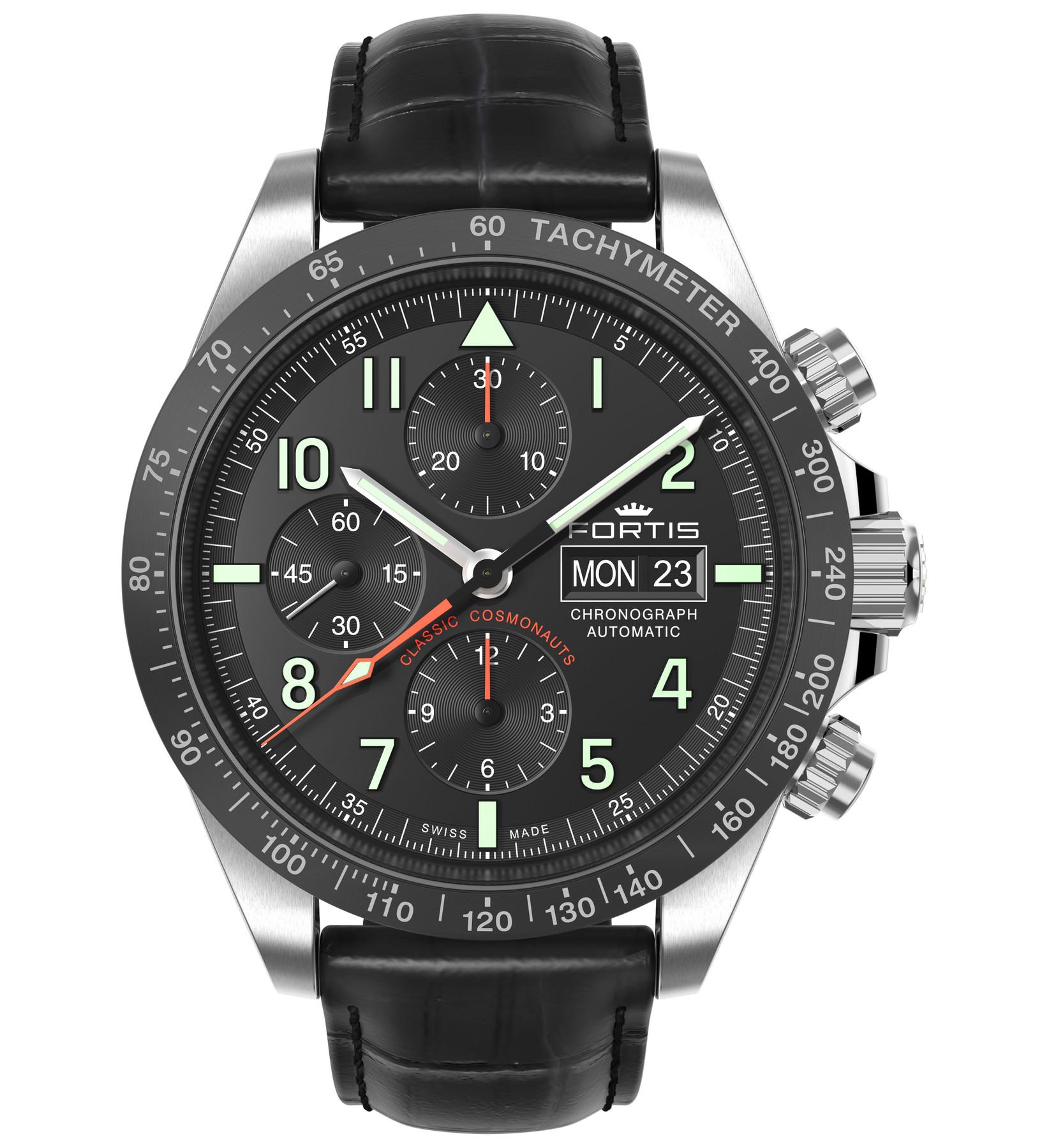 Fortis 401.26.11 L01 Classic Cosmonauts Automatik Chronograph