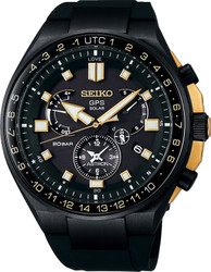 Seiko SSE174 / SSE174J1 GPS Executive Sports Line Dual Time Chrono LE 001