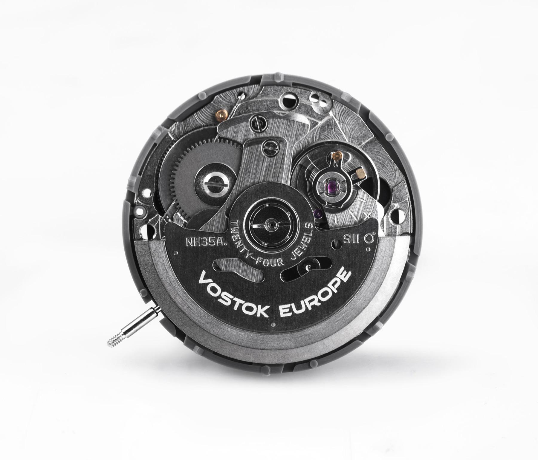 Bild 2 Vostok Europe Almaz NH35A-320C257 Automatikuhr mit Textilband