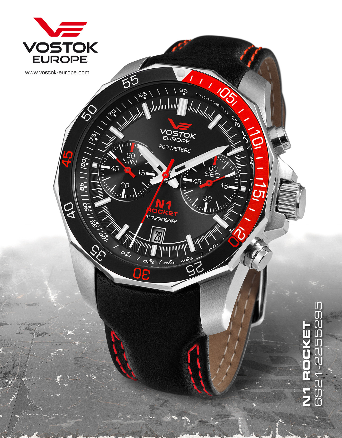 Bild 2 Vostok Europe Rocket N1 6S21-2255295 Chronograph