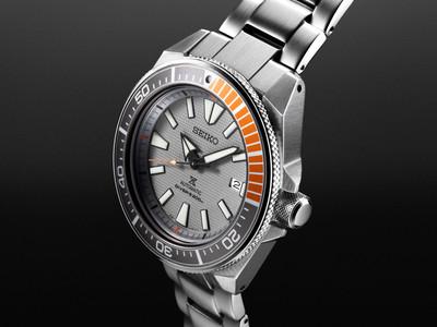 Seiko Automatik Diver SRPD03K1 / SRPD03 new Samurai Limited Edition – Bild 2